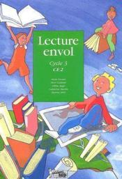 Lecture Envol ; Ce2 ; Cycle 3 ; Livre De L'Elève - Couverture - Format classique