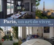 Paris, un art de vivre - Couverture - Format classique