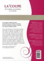 La coupe ; 45 modèles accessibles et finalisés - 4ème de couverture - Format classique