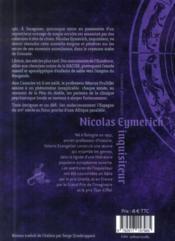 Picatrix - 4ème de couverture - Format classique