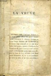 La Veuve. - Couverture - Format classique