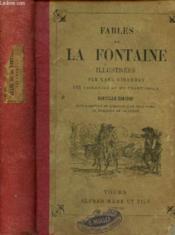 Fables de La Fontaine illustrées par Karl Girardet - Couverture - Format classique