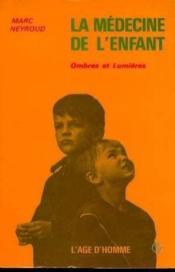 Medecine De L'Enfant - Couverture - Format classique