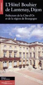 L'Hotel Bouhier De Lantenay - Couverture - Format classique