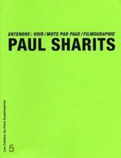 Entendre : voir, mots par pages, filmographie - Couverture - Format classique