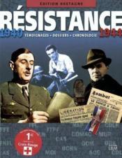 Bretagne:Resistance 1940 - Couverture - Format classique