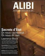 Alibi N.4 ; Secrets D'Etat - Couverture - Format classique