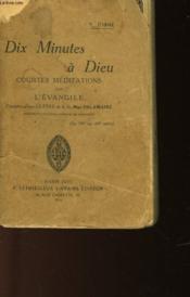 Dix Minutes A Dieux - Couverture - Format classique