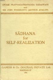 Sadhana For Self-Realization (Mantras, Yantras & Tantras) - Couverture - Format classique