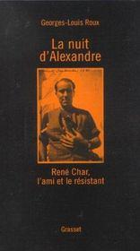 La nuit d'alexandre - Intérieur - Format classique
