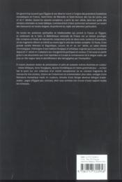 Pages chrétiennes d'Egypte ; les manuscrits des Coptes - 4ème de couverture - Format classique