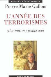 Terrorismes - Intérieur - Format classique