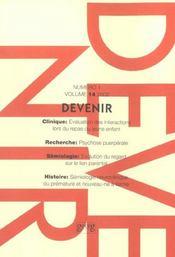 Devenir T.4 ; Vol - Intérieur - Format classique
