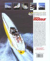 40 ans de bateaux de reve - 4ème de couverture - Format classique