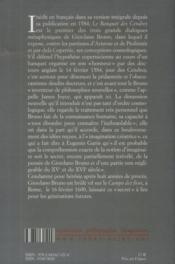 Le banquet des cendres - 4ème de couverture - Format classique