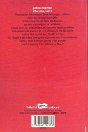 Vite Vite Lent - 4ème de couverture - Format classique