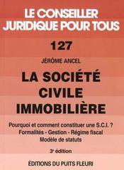 La Societe Civile Immobiliere - Intérieur - Format classique