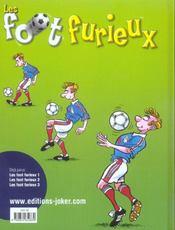 Les foot furieux t.3 - 4ème de couverture - Format classique