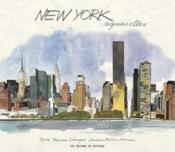New York ; aquarelle - Couverture - Format classique