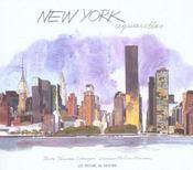 New York ; aquarelle - Intérieur - Format classique