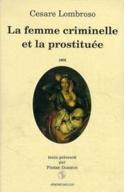 La femme criminelle et la prostituee - Couverture - Format classique