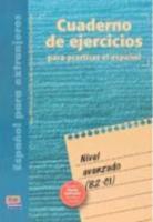 Cuaderno de ejercicios nivel avanzado - Couverture - Format classique
