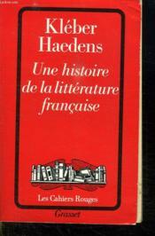 Une histoire de la littérature française - Couverture - Format classique