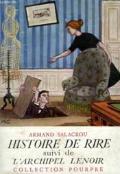 HISTOIRE DE RIRE suivi de L'ARCHIPEL LENOIR - Couverture - Format classique