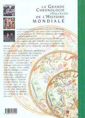 La Grande Chronologie Illustree De L'Histoire Mondiale - 4ème de couverture - Format classique