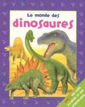 Le monde des dinosaures - Couverture - Format classique