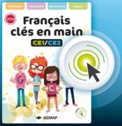 Francais cles en main ce1 ce2 - version interactive - Couverture - Format classique