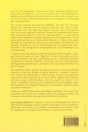Les Littoraux Francais - 4ème de couverture - Format classique