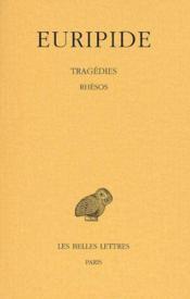 Tragedies T7 2e Partie - Couverture - Format classique