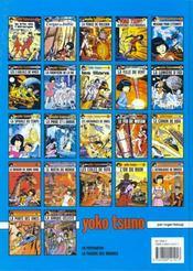 Yoko Tsuno T.20 ; l'astrologue de Bruges - 4ème de couverture - Format classique
