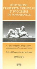 Depressions Actualites Psychosomatique 5 - Intérieur - Format classique