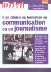 Bien choisir sa formation en communication ou en journalisme - Intérieur - Format classique