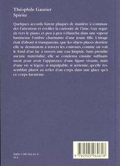 Spirite - 4ème de couverture - Format classique