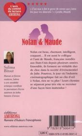 Nolan & Maude - 4ème de couverture - Format classique