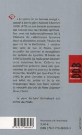 Petite Vie De ; Petite Vie Du Père Chevrier - 4ème de couverture - Format classique