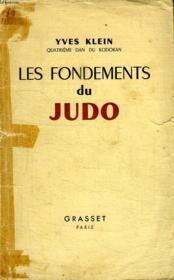 Les Fondements Du Judo. - Couverture - Format classique