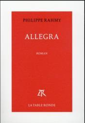 Allegra - Couverture - Format classique
