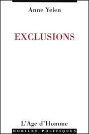 Exclusions - Couverture - Format classique