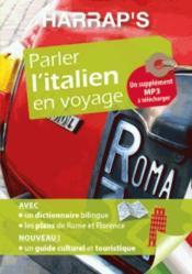 Parler l'italien en voyage - Couverture - Format classique