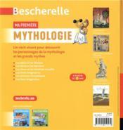 Bescherelle ; ma première mythologie - 4ème de couverture - Format classique