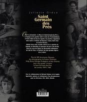 Saint-germain-des-prés - 4ème de couverture - Format classique