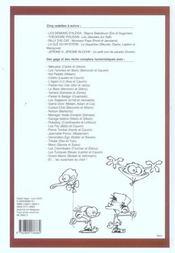 Recueil spirou t.282 - 4ème de couverture - Format classique