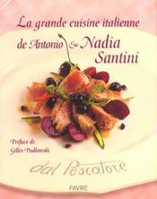 La grande cuisine italienne de antonio et nadia santini - Intérieur - Format classique