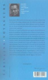 Les vigies du nil - 4ème de couverture - Format classique