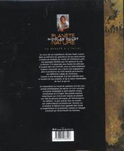 Planete nature - 4ème de couverture - Format classique
