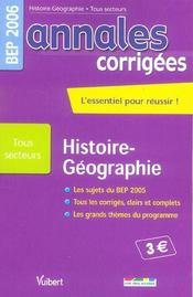 Annales Corrigees T.25 (édition 2006) - Intérieur - Format classique
